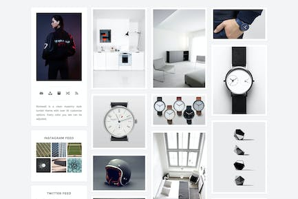 Rockwell - A Responsive and Minimal Theme