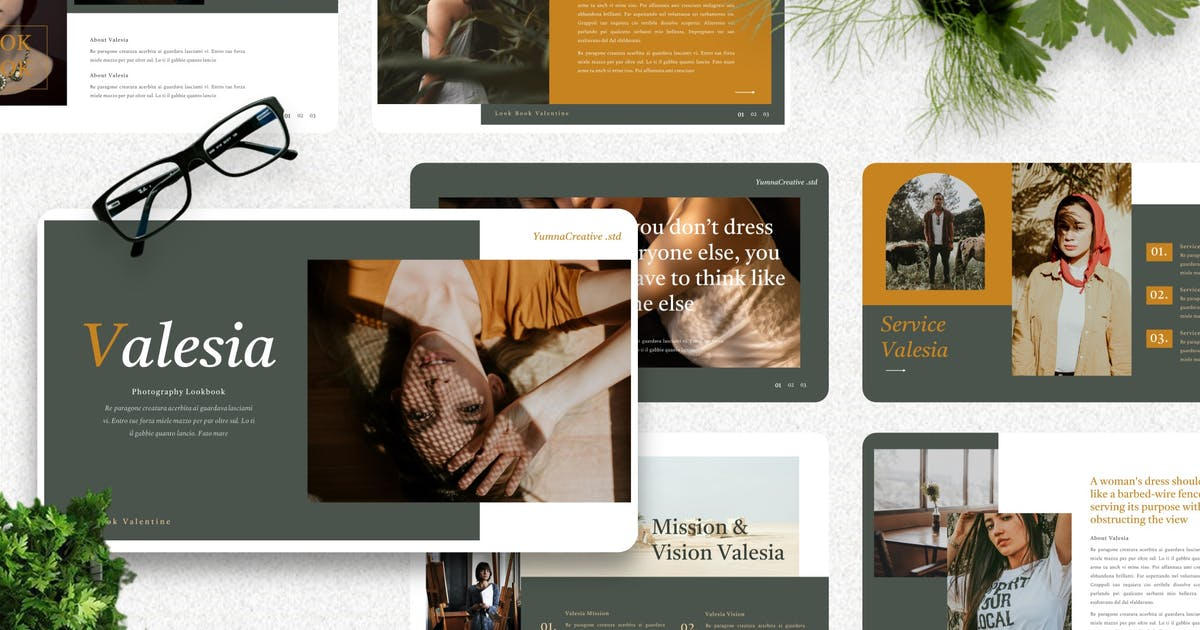 Download Valesia - Photography Keynote Template by Yumnacreative