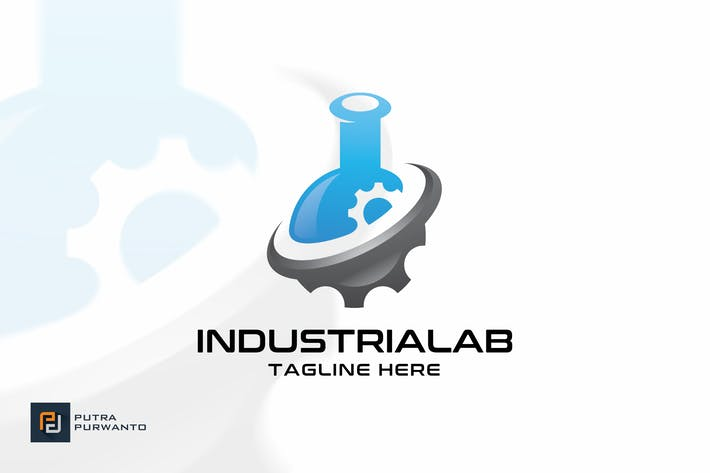 Thumbnail for Industrial Lab - Logo Template