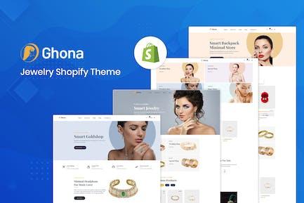 Ghona - Tema Shopify de joyería