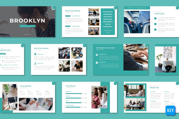 Thumbnail for Brooklyn - Travel Agency (Keynote)