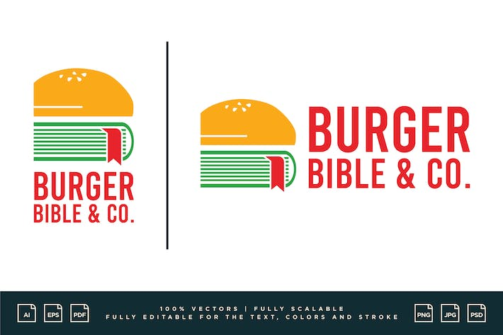 Logo Design - Burger Bible