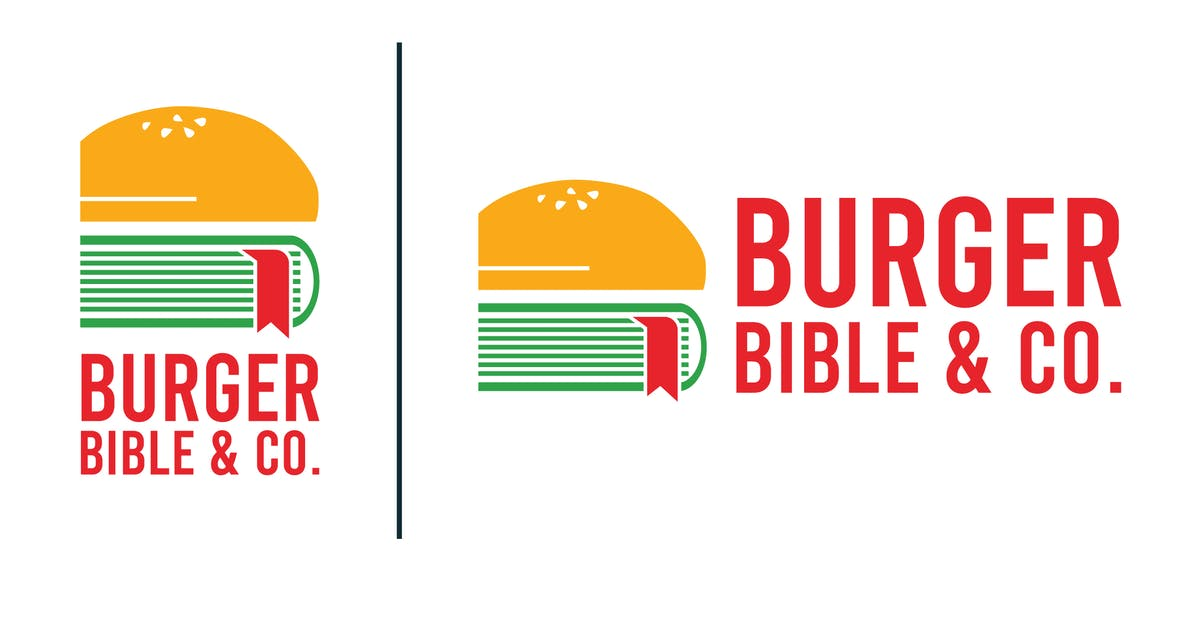 Download Logo Design - Burger Bible by tacikworks
