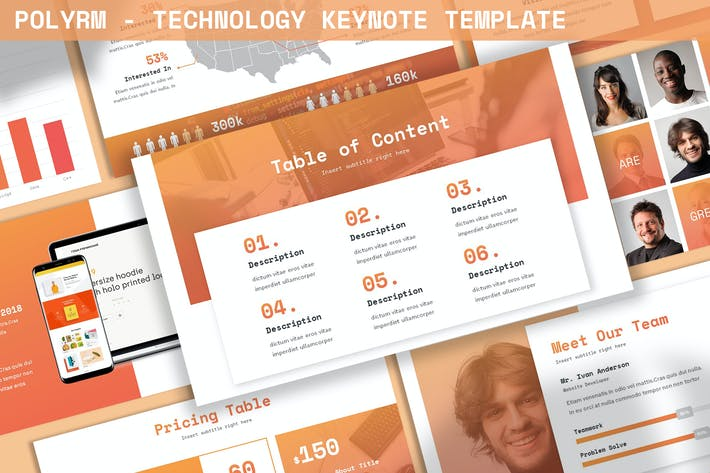 Thumbnail for Polyrm - Technology Keynote Template