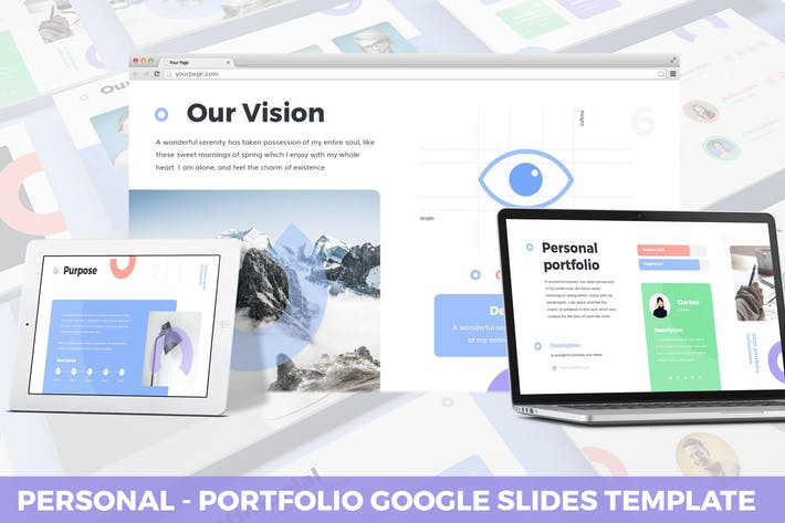 Thumbnail for Personal - Portfolio Google Slides Template