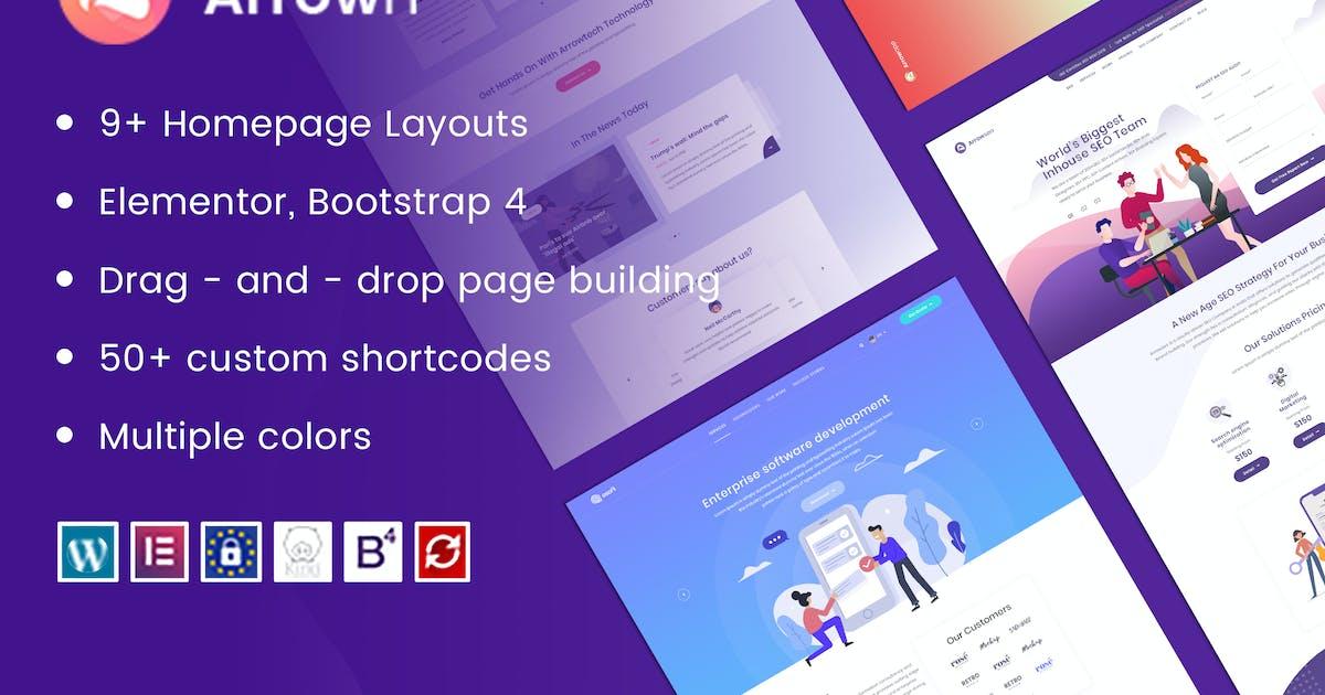 Download ArrowIT - Technology, Digital WordPress Theme by ArrowHiTech