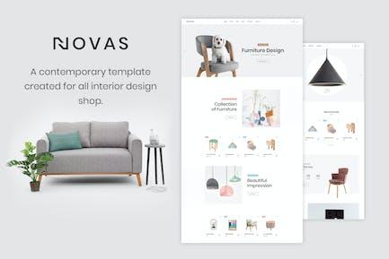 Novas | Furniture and Handmade Shop HTML5 Template