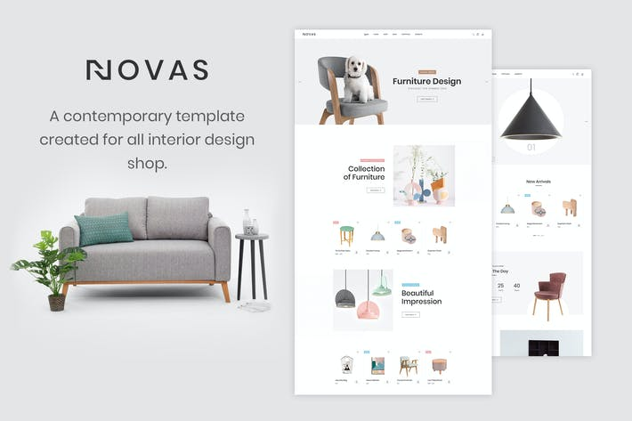 Thumbnail for Novas | Furniture and Handmade Shop HTML5 Template