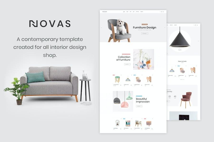Novas   Furniture and Handmade Shop HTML5 Template