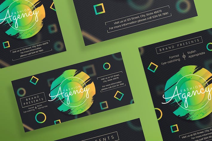 Thumbnail for Fashion Agency Flyer and Poster Template