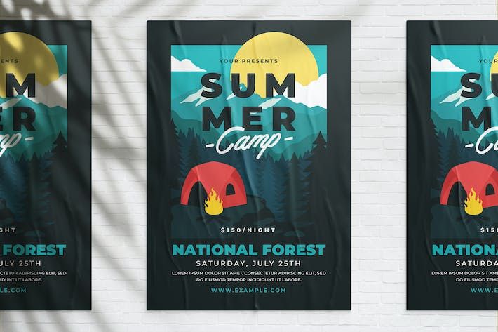 Thumbnail for Summer Camp Poster