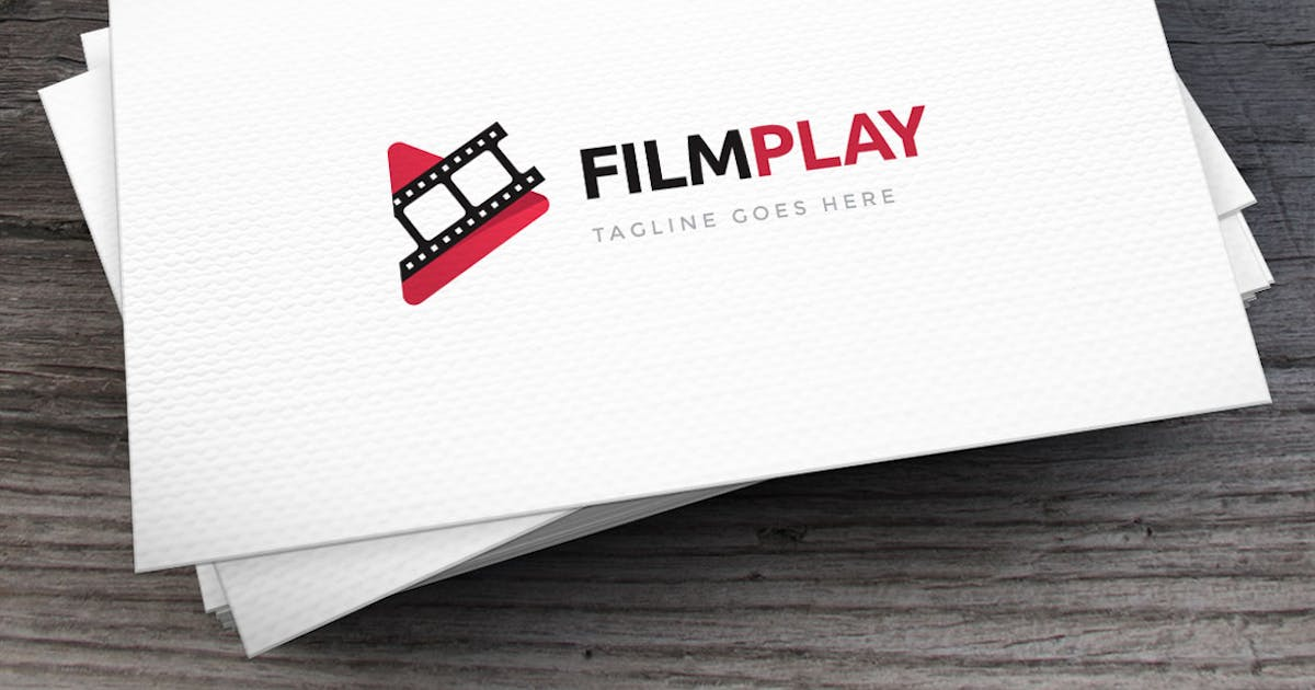 Download Film Play Logo Template by empativo