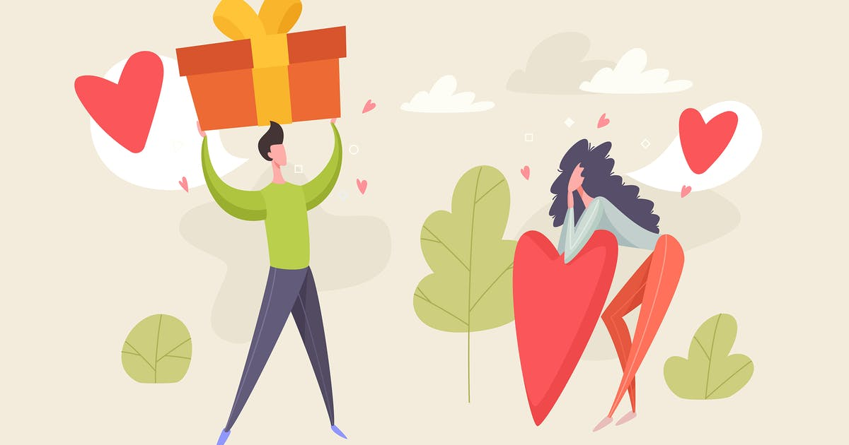 Download Valentine's Day Illustration Vector by Kavoon