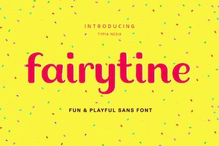 Fairytine Fun Groovy Fuente