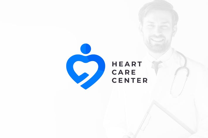 Thumbnail for Heart & Health Care – Medical Logo Template