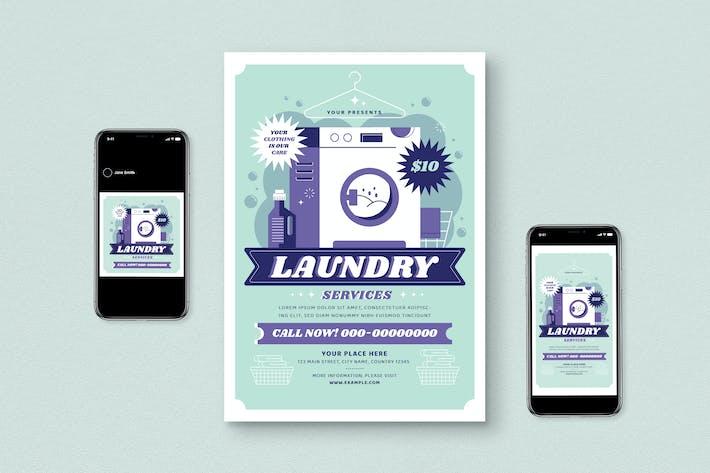 Thumbnail for Laundry Flyer Set