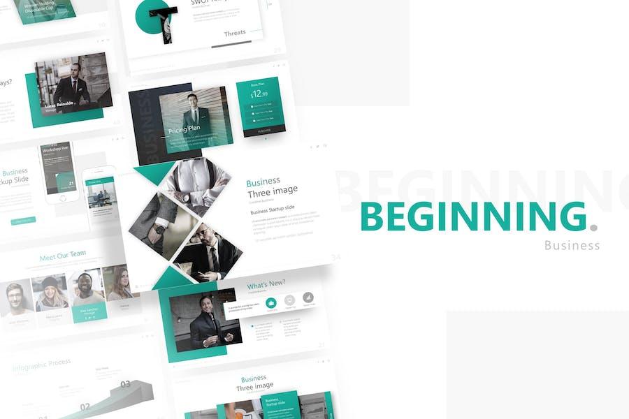 The Beginning - Business Presentation