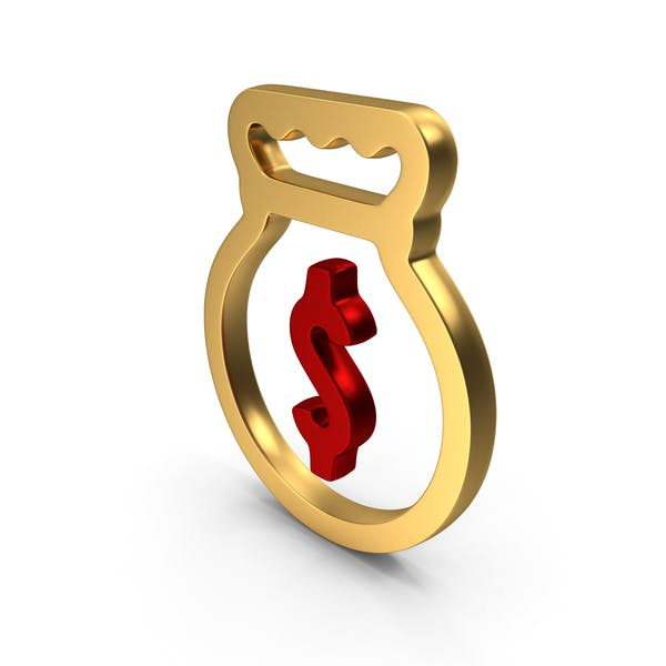 Dollar Bag Logo Icon