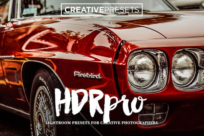 Thumbnail for HDR PRO Lightroom Presets