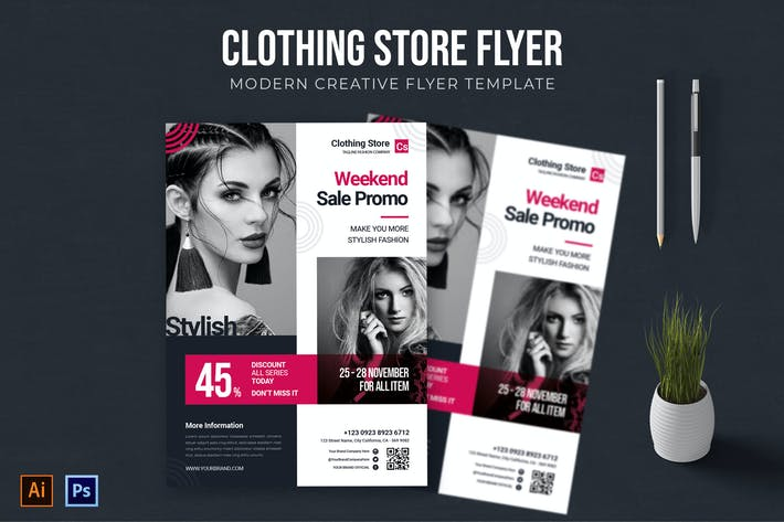 Thumbnail for Clothing Store - Flyer