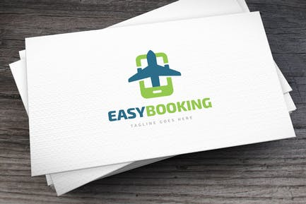 Easy Booking Logo Template
