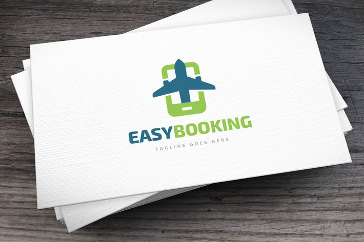 Thumbnail for Easy Booking Logo Template