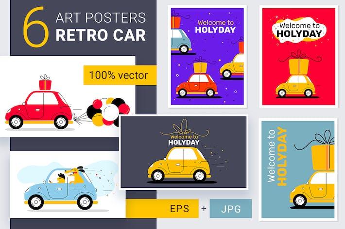 Thumbnail for Постеры ретро автомобилей
