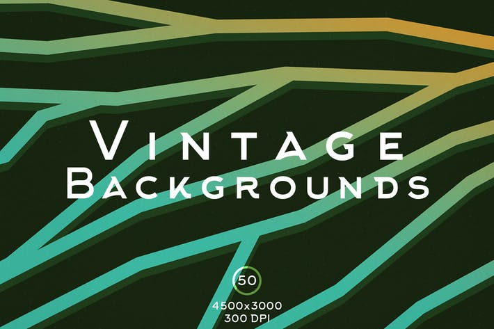 Thumbnail for 50 Vintage Backgrounds