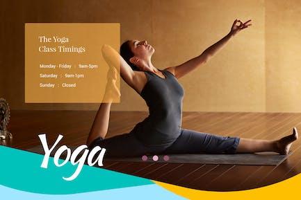 Yoga Club - Health Care & Beauty Center Template
