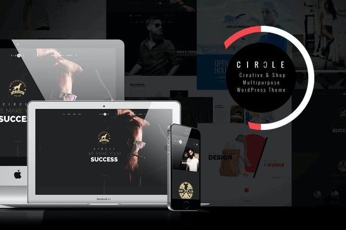 Thumbnail for CIRCLE - Creative  Multipurpose WordPress Theme