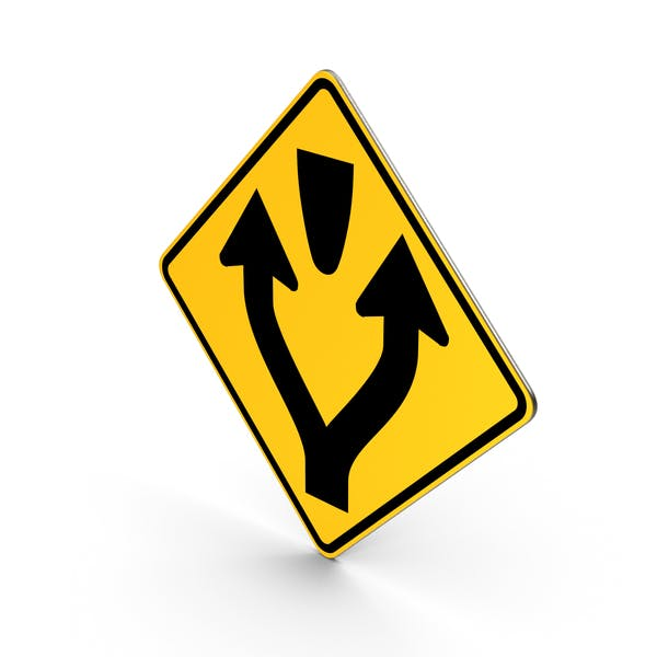 Pass Left Or Right Sign