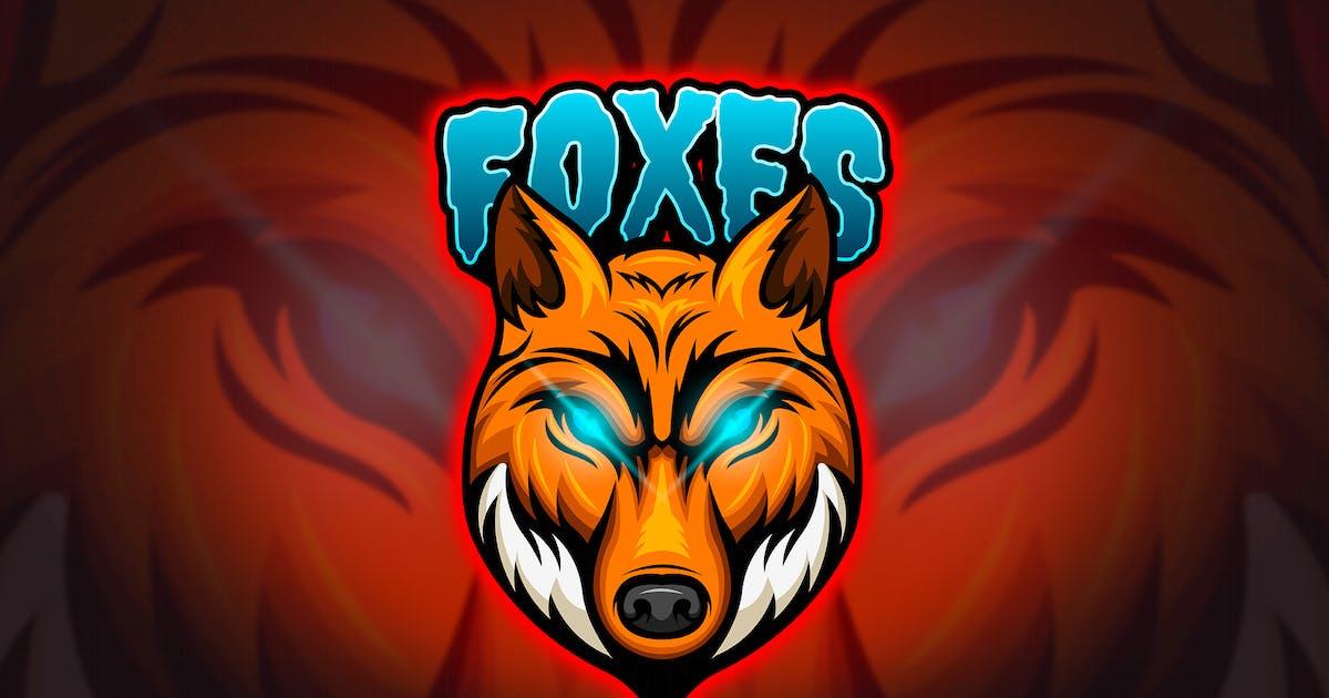 Download Foxes - Mascot & Esport Logo by aqrstudio