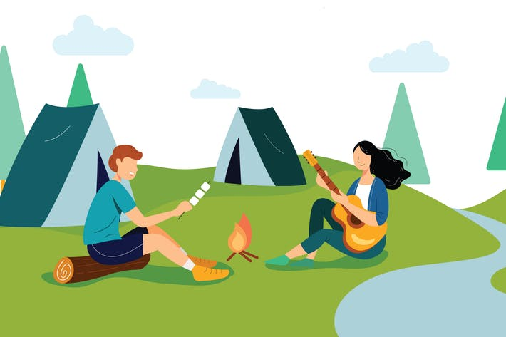 Thumbnail for Summer Holiday Vector Illustration