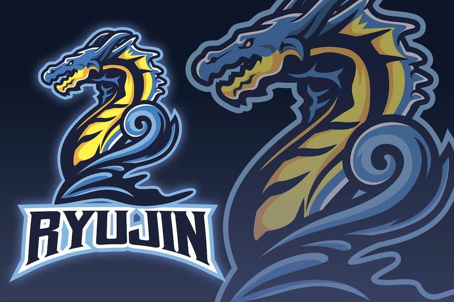 Giant Sea Monster Esport Logo
