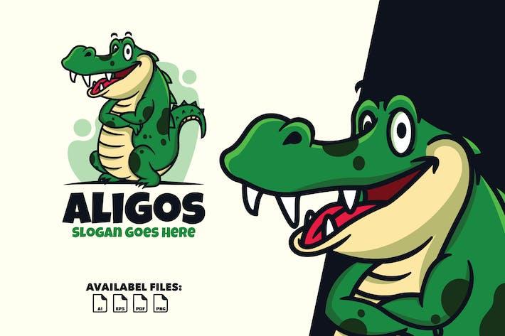 Thumbnail for Aligos - Logo Mascote