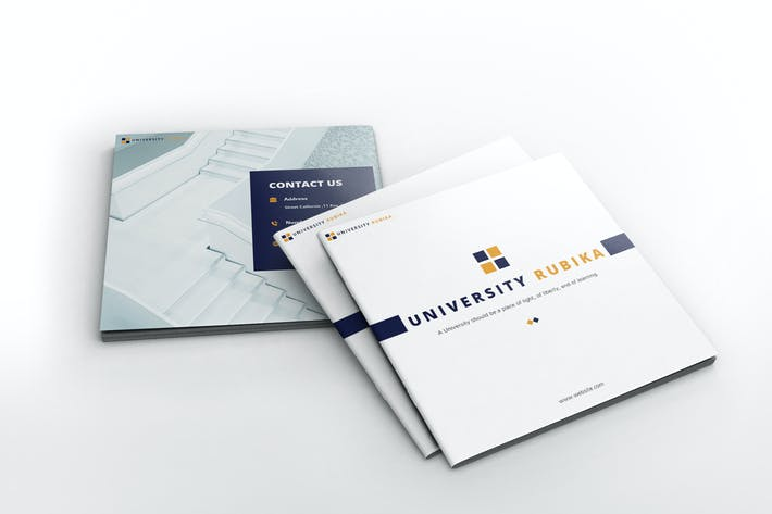 Thumbnail for University Square Brochure Template