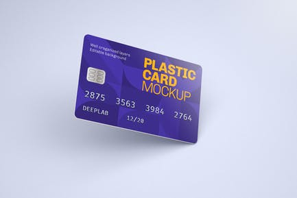 Plastikkarte Mockup | Kreditkarte