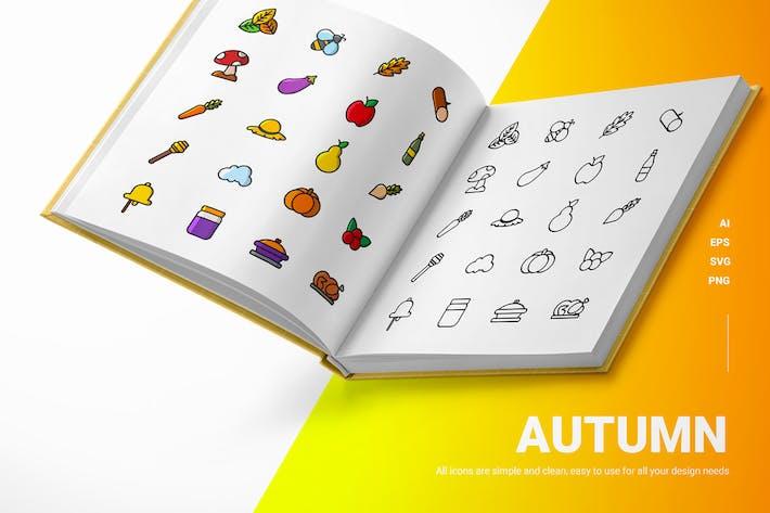 Autumn - Icons