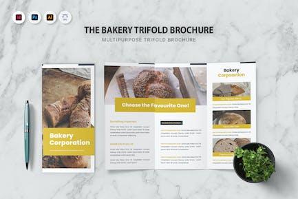 Bakery Corporation Trifold Brochure
