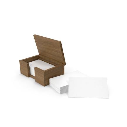 Визитные карточки в коробке