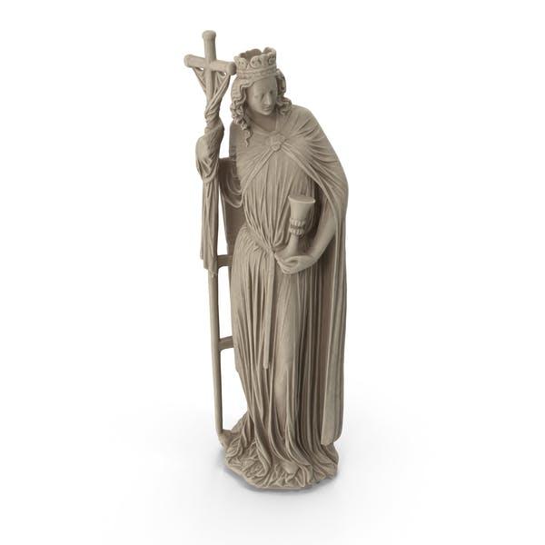Estatua de San con Cruz