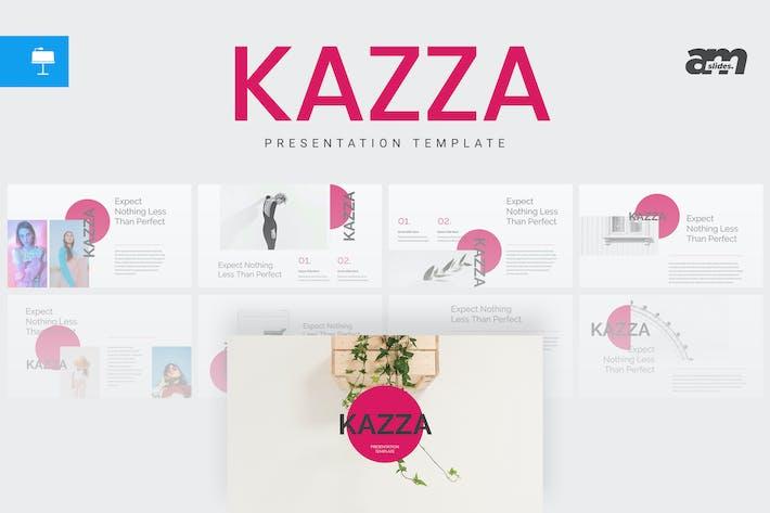Thumbnail for Kazza - Keynote Template