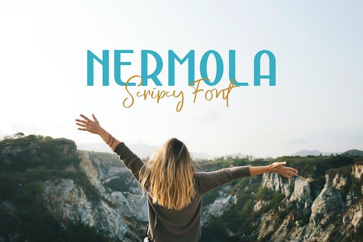 Thumbnail for NERMOLA Scripcy Font