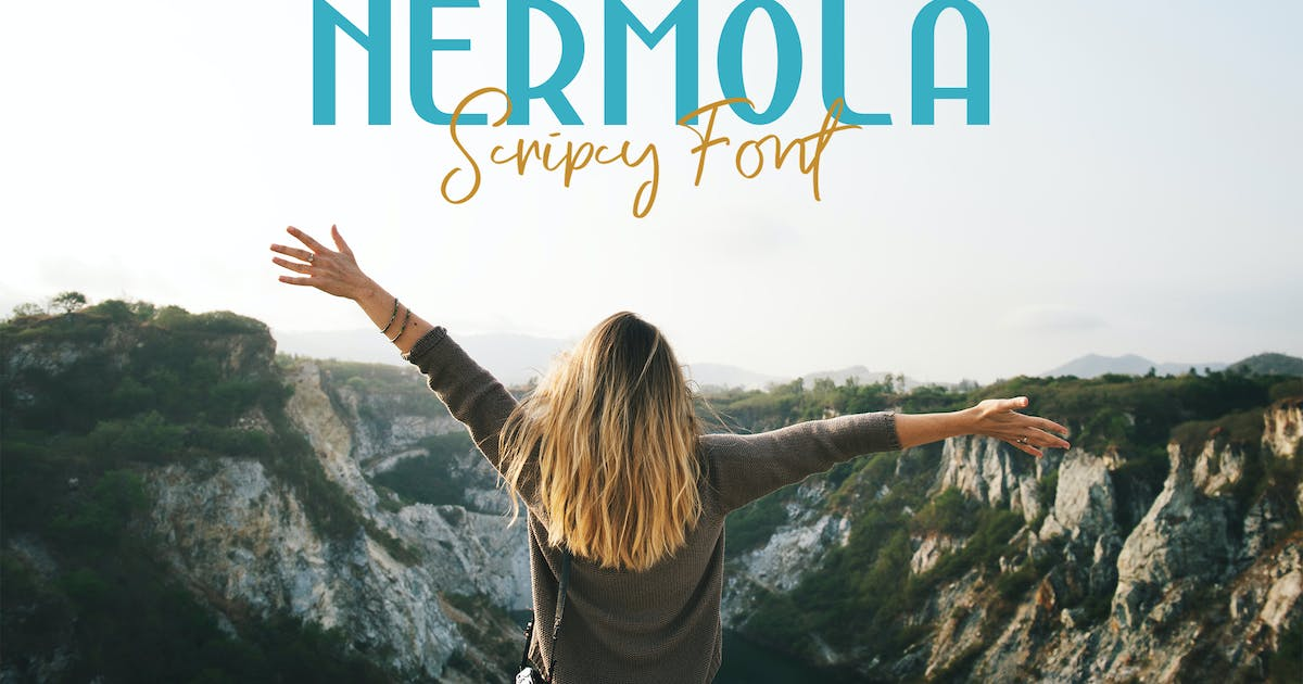 Download NERMOLA Scripcy Font by alit_design