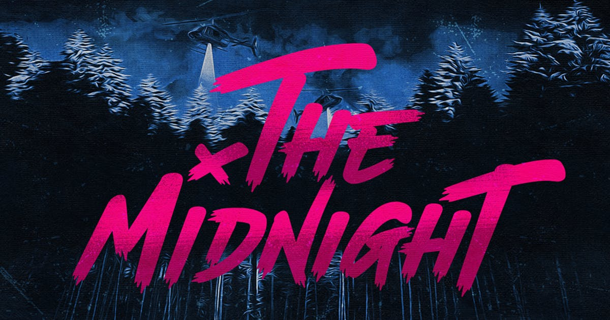 Download The Midnight - Font + Illustrations by TheBrandedQuotes