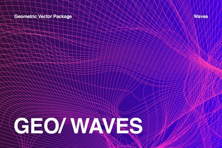 Colleción de ondas geométricas