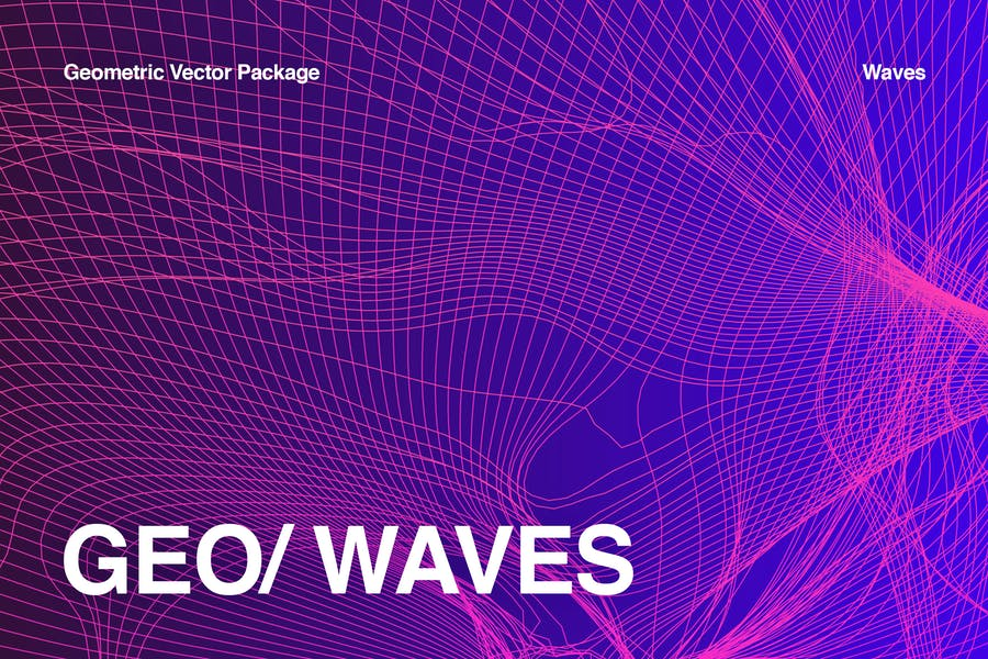 Geometric Waves Collection