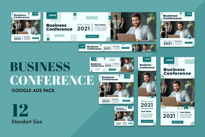 Thumbnail for Google Ads Web Banner Business Conference