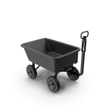 Garden Cart Black
