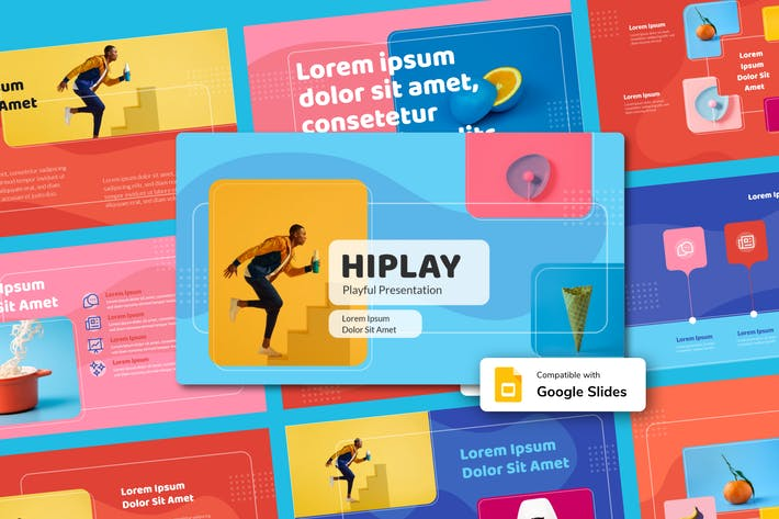 Thumbnail for HIPLAY - Playful Google Slides Template